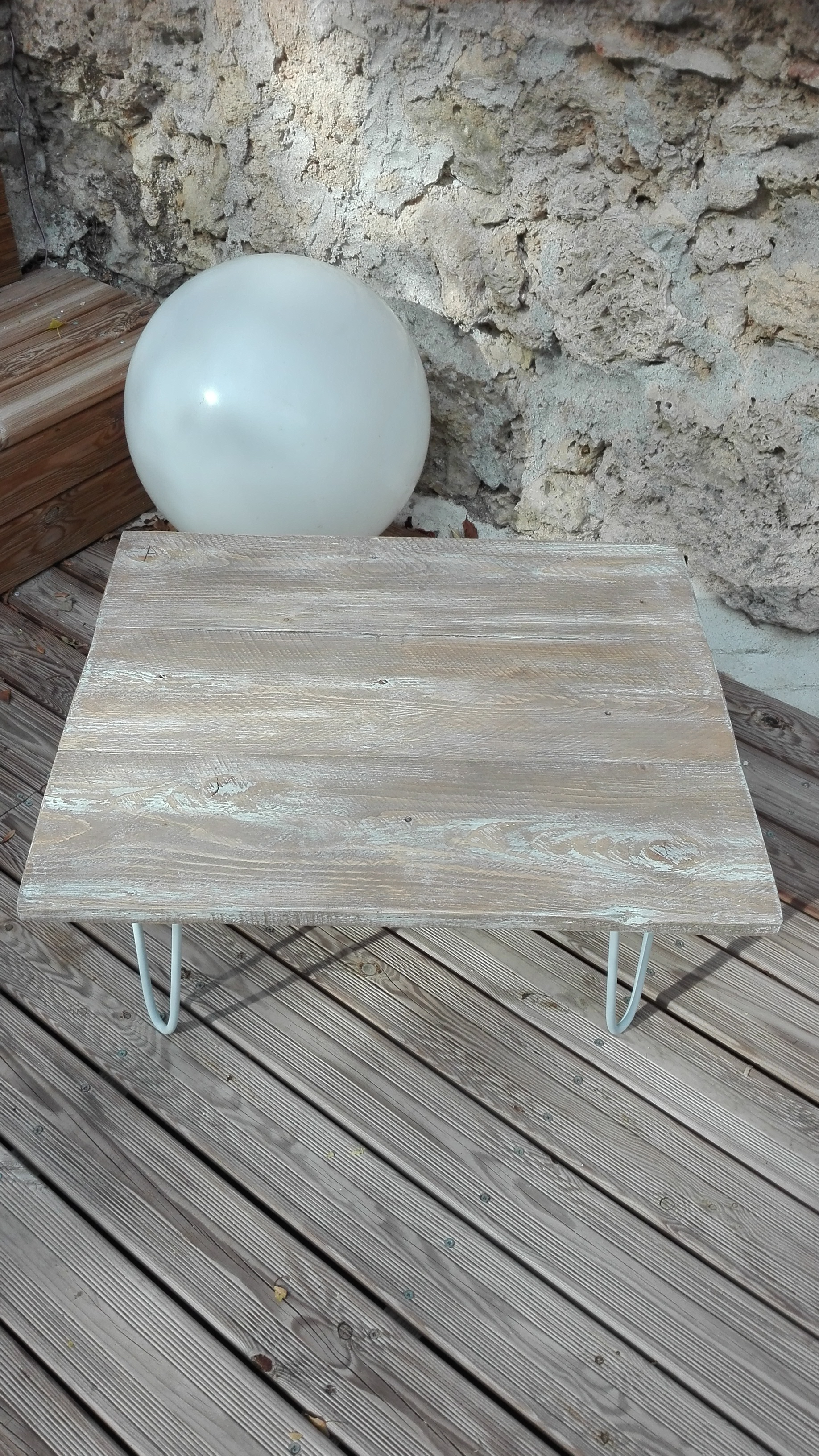 Table Basse Bois Blanc C Rus Urbantrott Com # Table Bois Ceruse